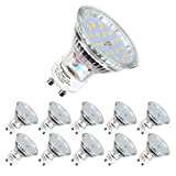GU10 LED Kaltweiss | LED lampe | MR16 Kaltweiß(6000 Kelvin) | 600 Lumen | LED...