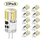 G4 LED Lampen, WXY 3W 48 x 3014 SMD ersetzen 30W Halogenlampe gleichwertig, AC/DC 12V, 360...