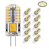 Jpodream 3W G4 LED Lampe, 48X 3014SMD, 300LM, Ersatz für 30W Halogenlampen,12V AC / DC,...
