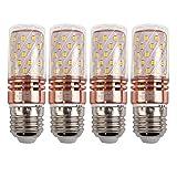 E27 LED Mais Birne, 12W LED Kerzenleuchter Glühbirnen 100 Watt Äquivalent, 1200lm, Warm...